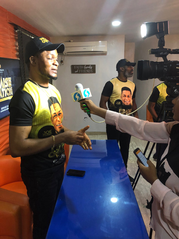 News: Joepraize holds Press Conference for his #PraiseOvation concert