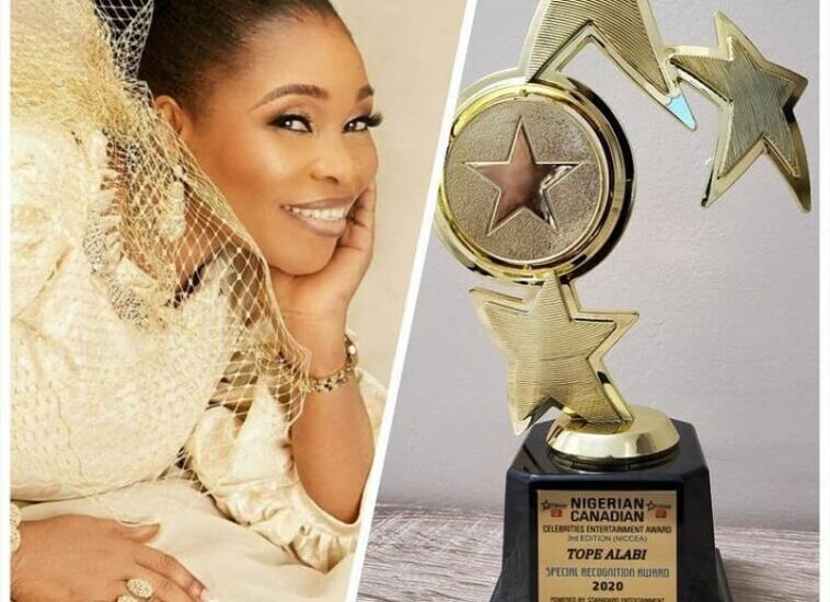 News: Tope Alabi Wins 2020 NCCE Award